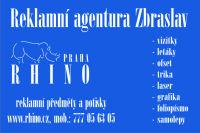 Rhino Praha - reklamní potisk